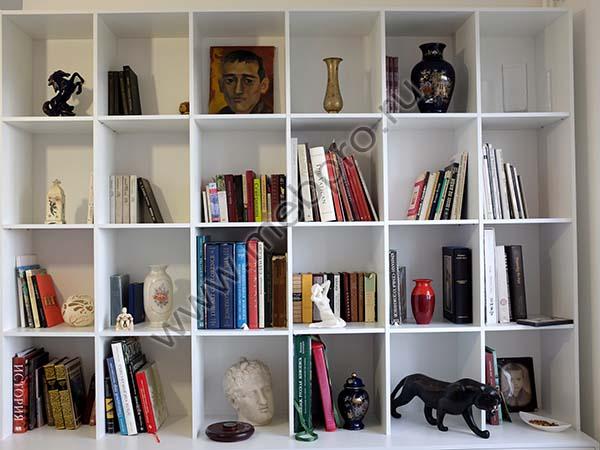 Полки книжные на заказ, стеллажи и шкафы для книг мебель на .